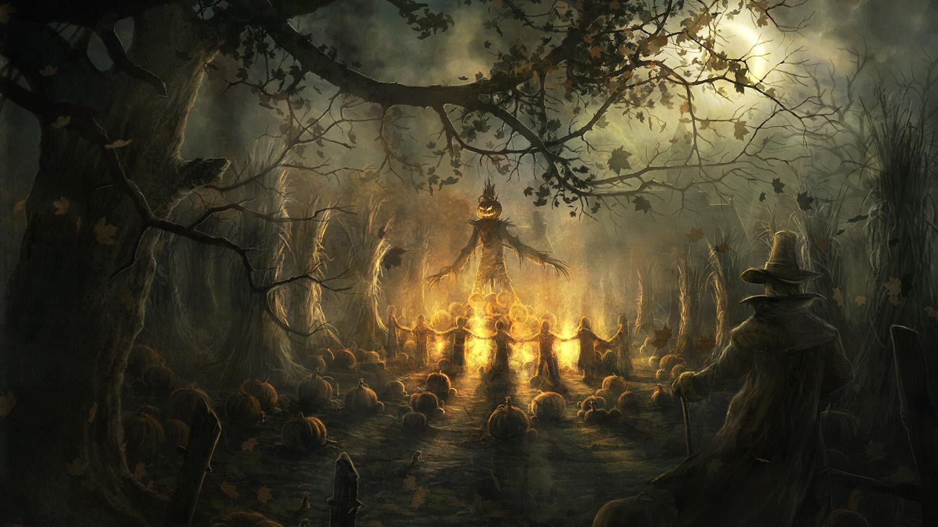 Scary Halloween Desktop Backgrounds 1920x1080