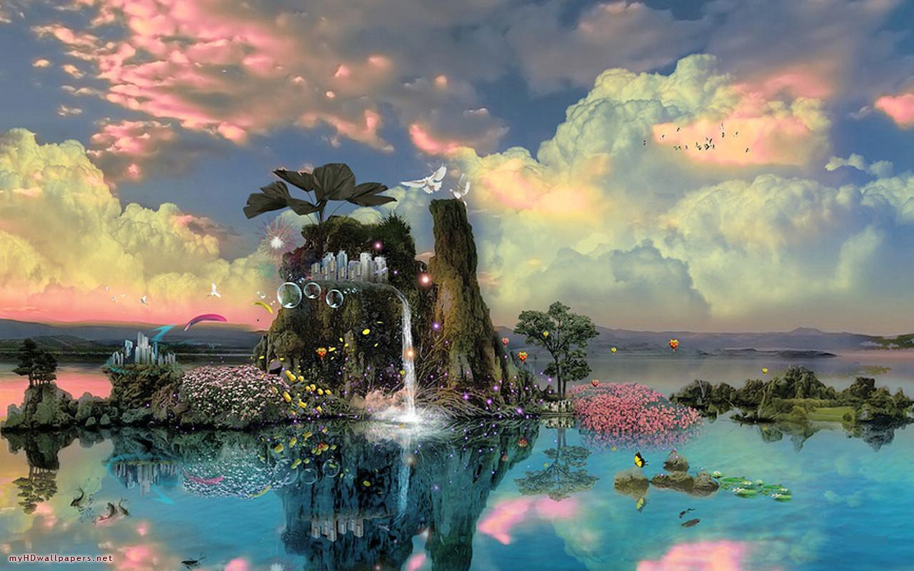 Hd Fantasy Wallpapers To Inspire Your Desktop: Fantasy Nature Wallpapers HD