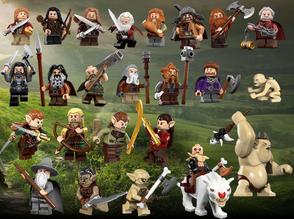 The Hobbit Lego by faithless12 963x720