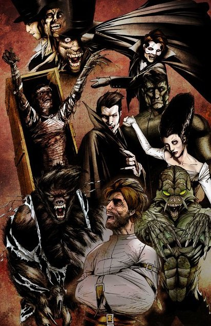 Universal Monster Wallpaper Universal monsters by 412x635