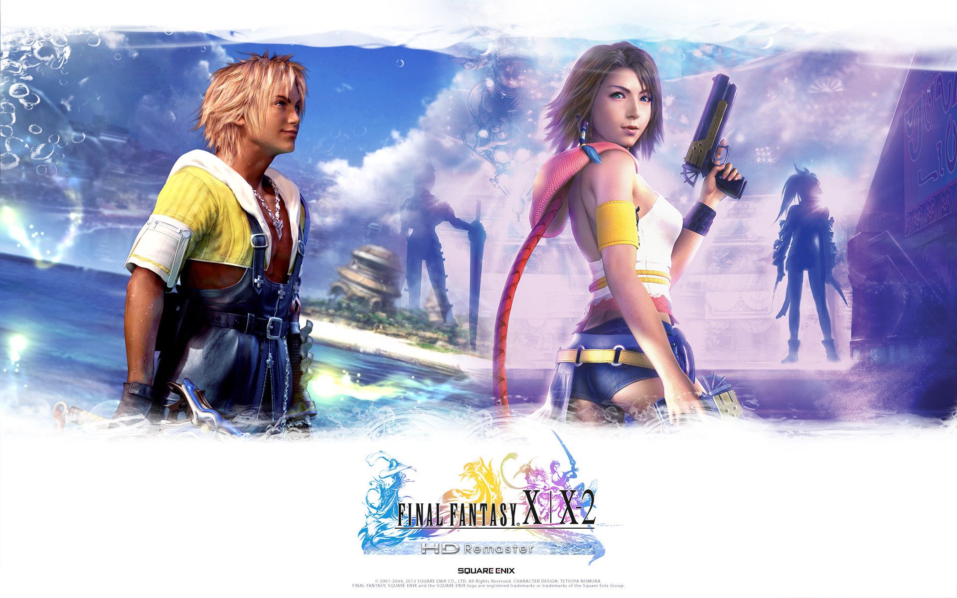Free Download Final Fantasy Xx 2 Hd Remaster Wallpapers The Final