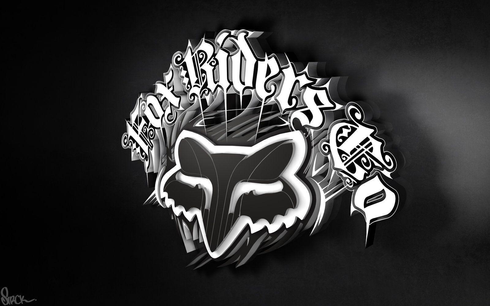 Fox Racing Logo Wallpapers 1600x1000