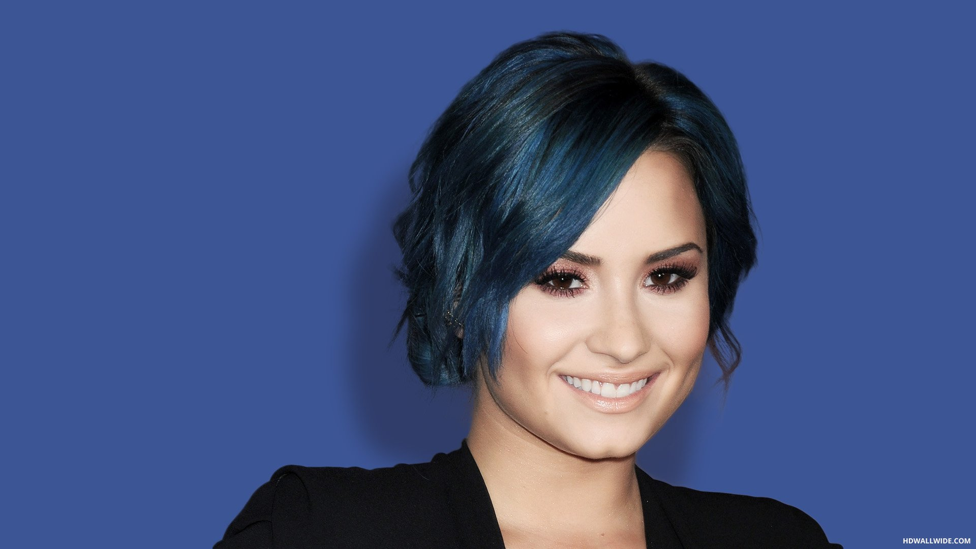 Demi Lovato HD Wallpapers 1080p Blue Upload at October 20 2015 1920x1080