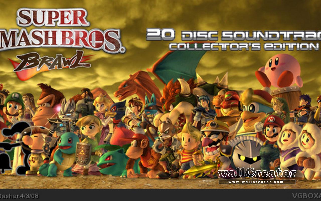 Free Download Super Smash Bros Brawl 1280 800 Wallpaper 1280x800