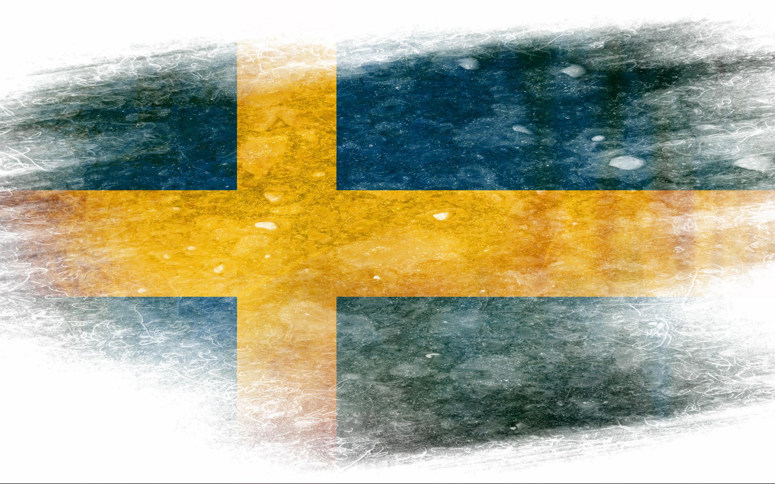 Flag of Sweden Computer Wallpapers Desktop Backgrounds 2560x1600 2560x1600