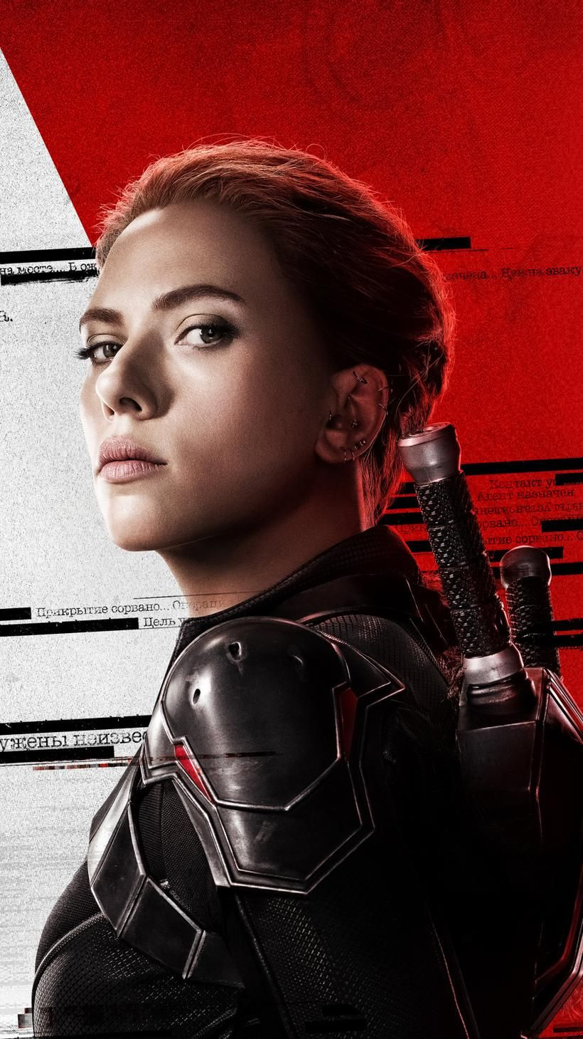 Black Widow 2021 Phone Wallpaper Moviemania in 2021 Black 820x1459