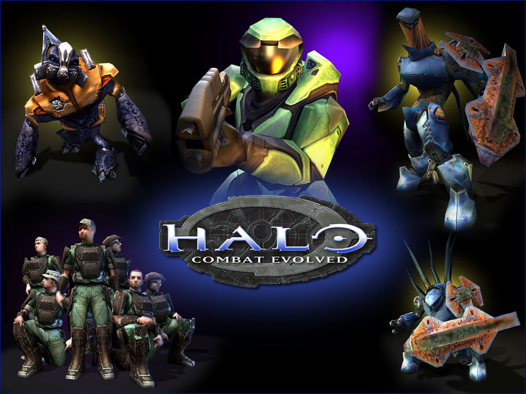 Halo Combat Evolved TheWallpapers Desktop Wallpapers for HD 1024x768