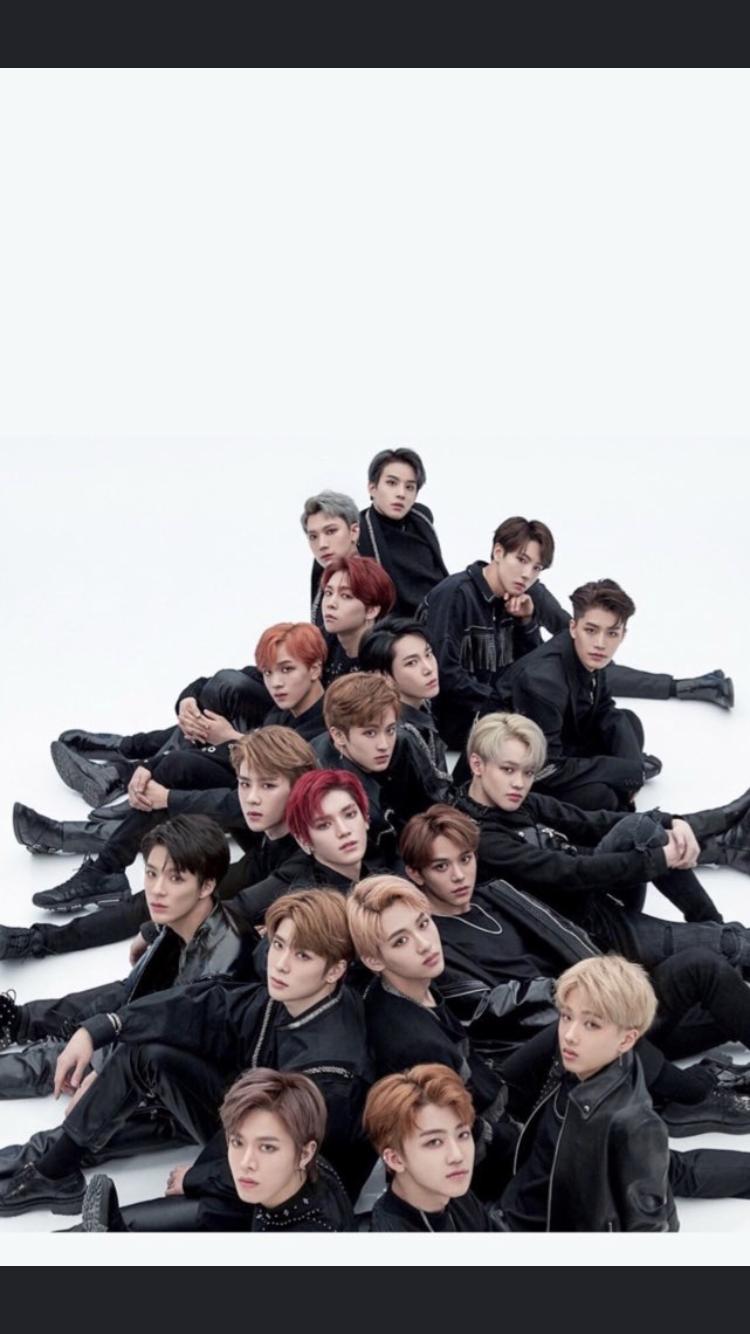 NCT 2018 BLACK ON BLACK Jisung nct Nct taeyong 750x1334