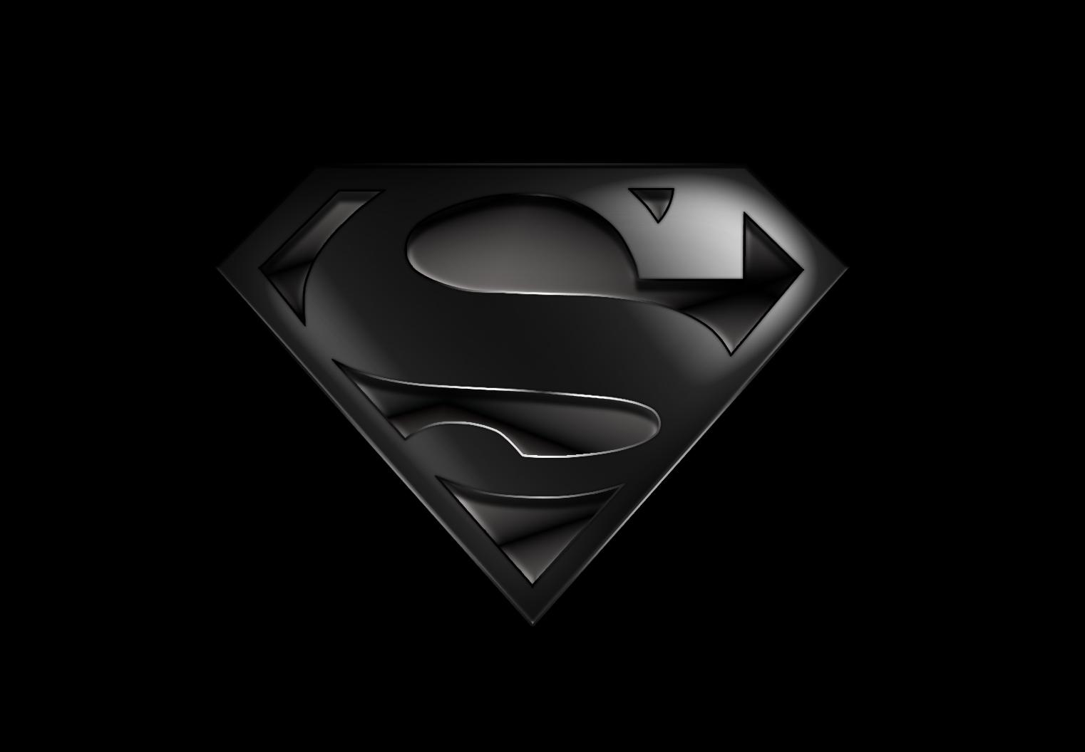 Black Suit Superman Logo Superman black iii by wayanoru 1522x1056