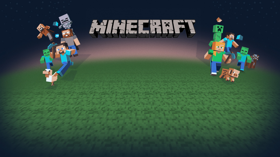 Awesome Minecraft wallpaper Full HD by superreddevil 900x506