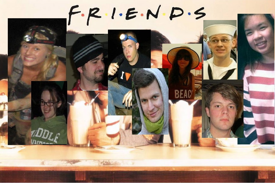 friends tv show wallpapersjpeg 917x612