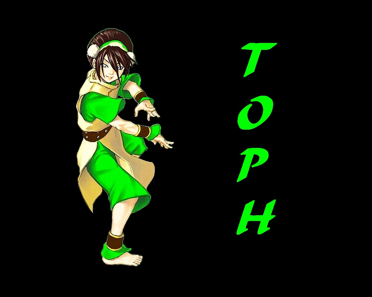 Free Download Computer Wallpaper Xp Wallpaper Toph From Avatar The