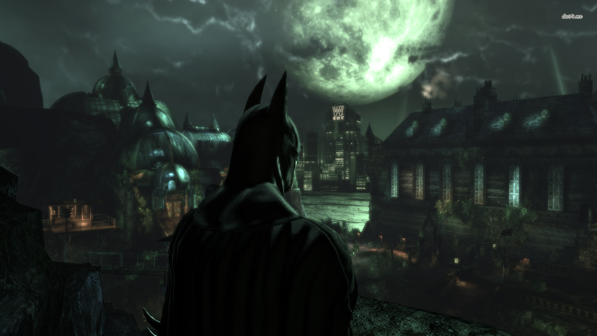 Batman   Arkham Asylum wallpaper   Game wallpapers   2359 1920x1080