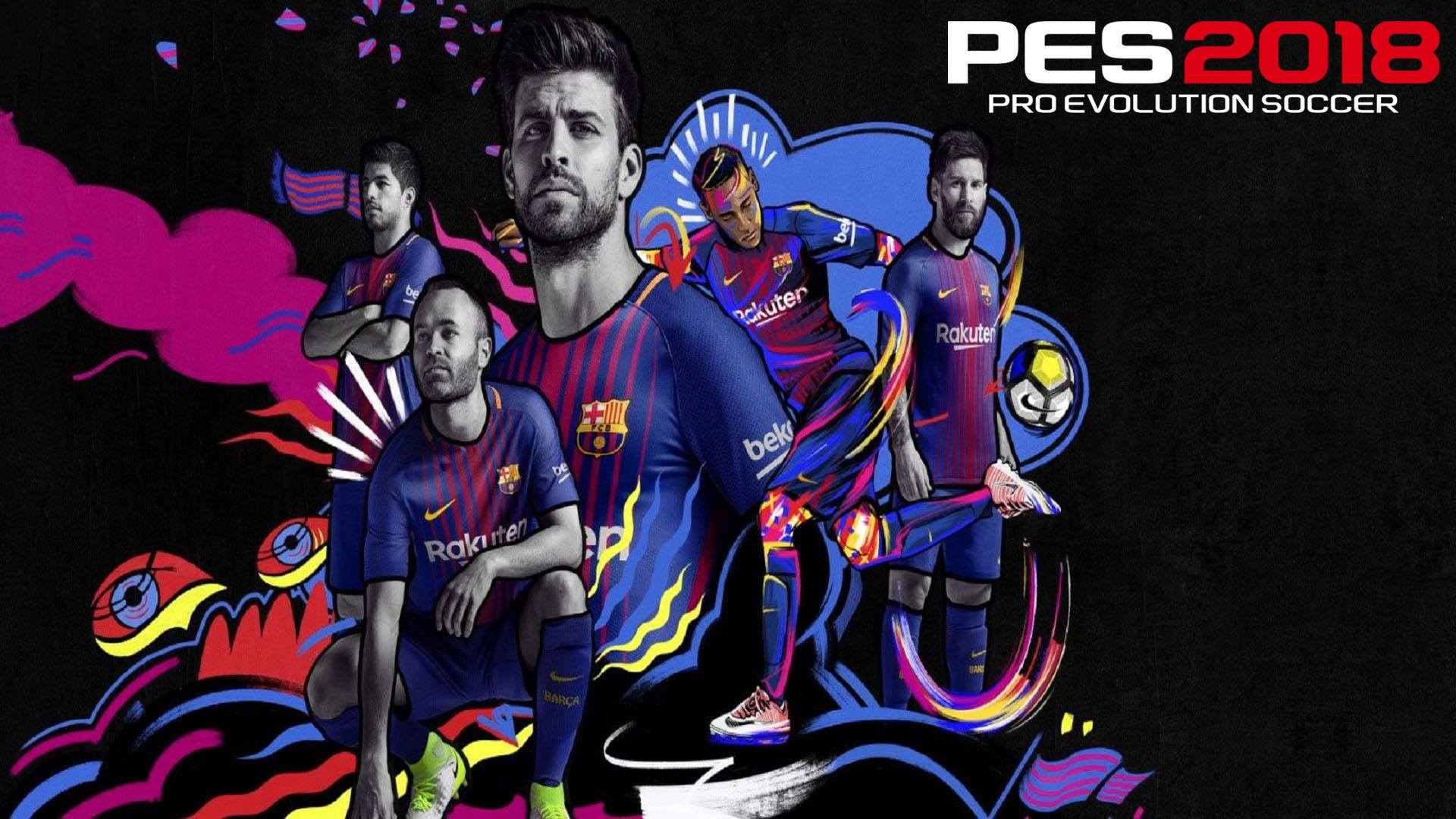 Barcelona Kits 2017 2018 Wallpapers 1920x1080