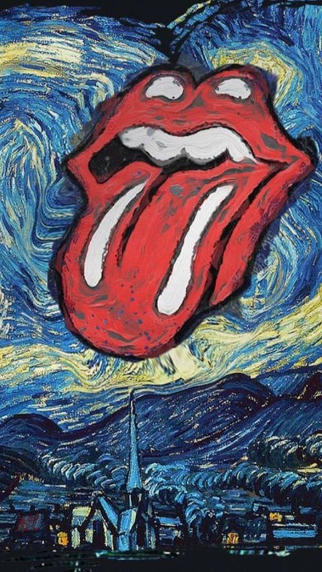 Pin by Ruben Santoso on r With images Rolling stones logo 640x1136