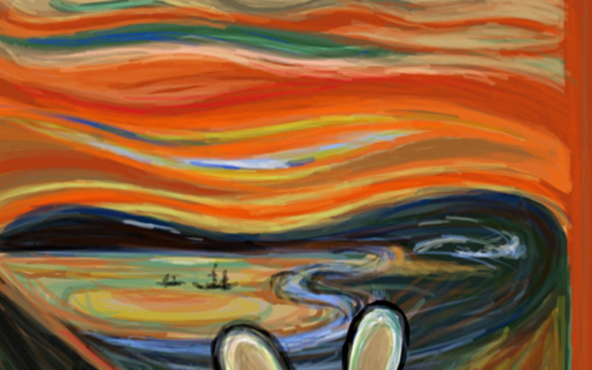47 The Scream Wallpaper Desktop On Wallpapersafari