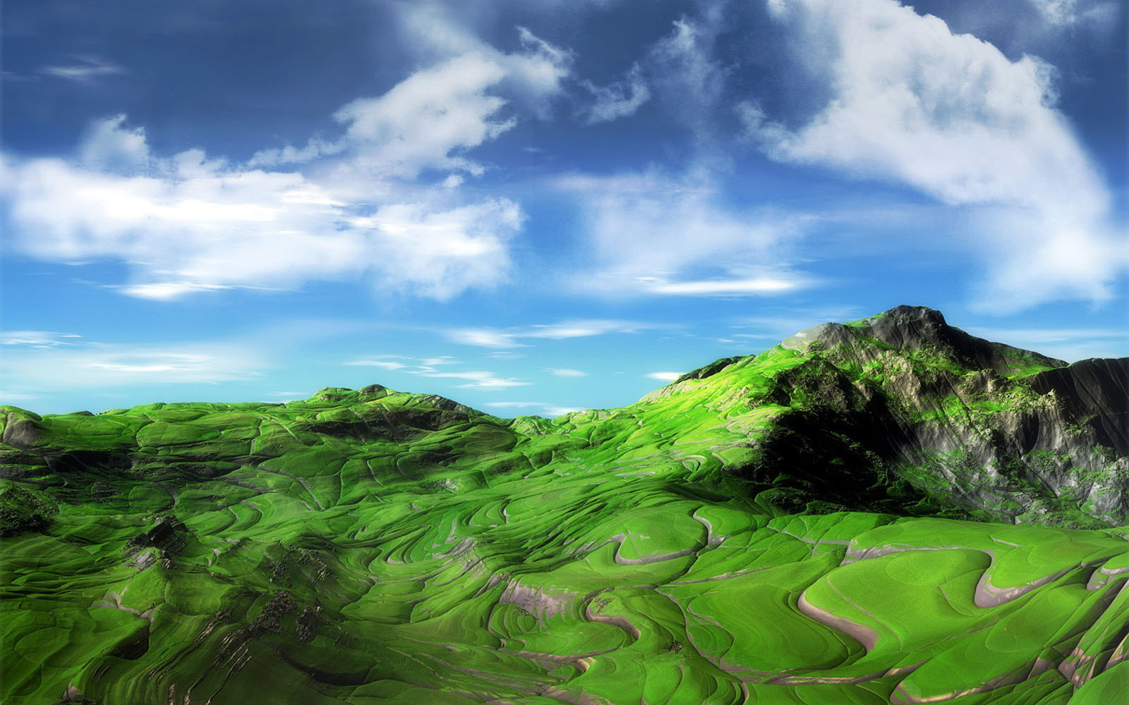 green mountains wallpaper View All View All 1600x1000