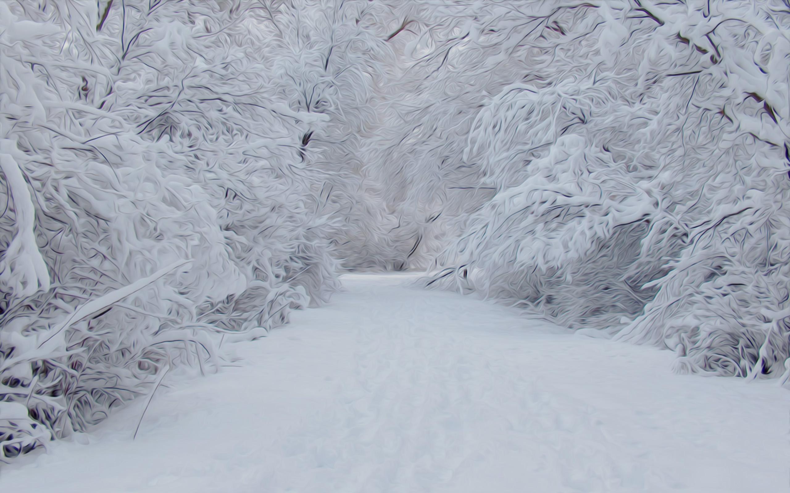 snow scene wallpaper for desktop wallpapersafari