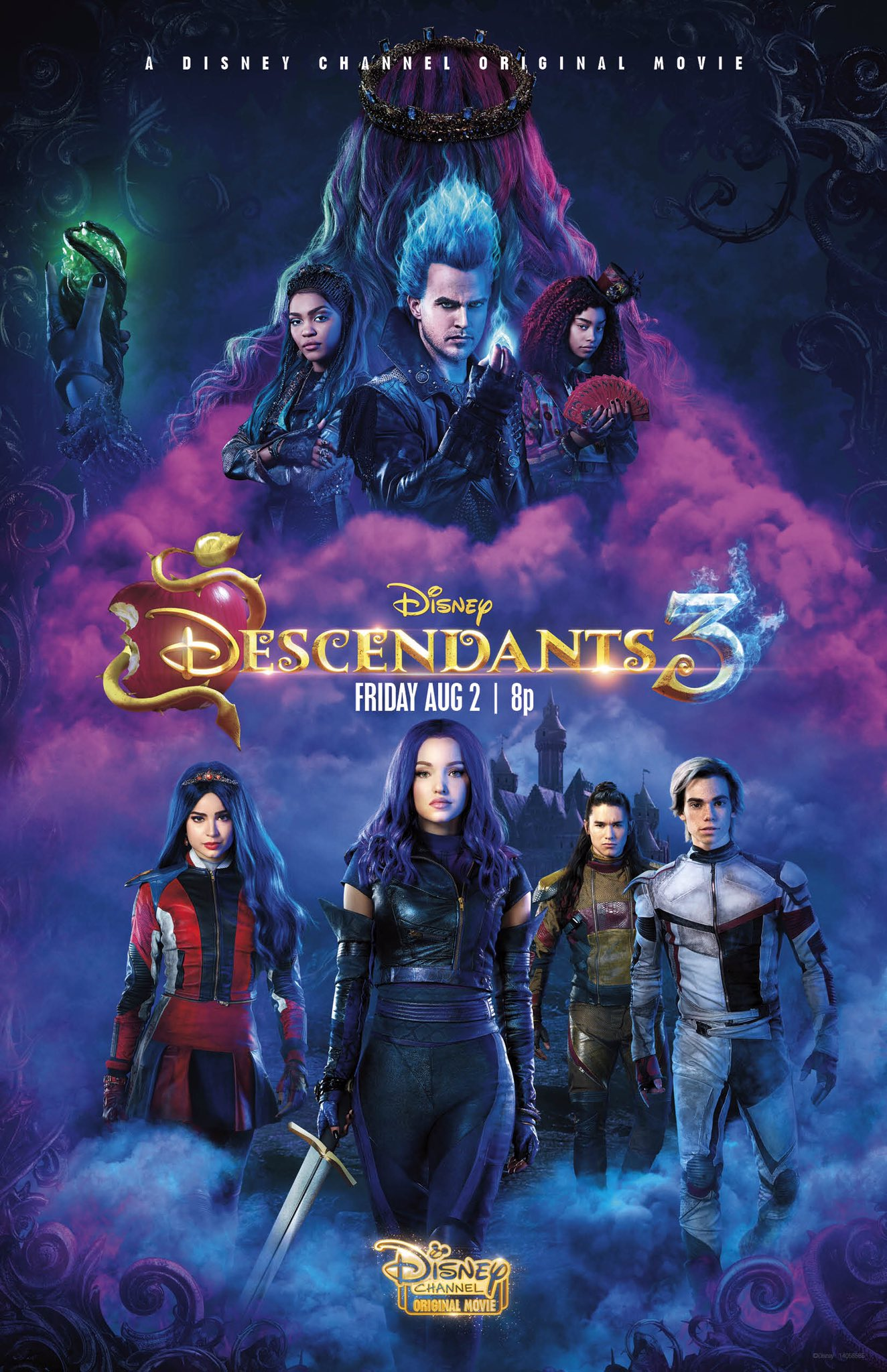 Descendants 3 Disney Wiki FANDOM powered by Wikia 1324x2048