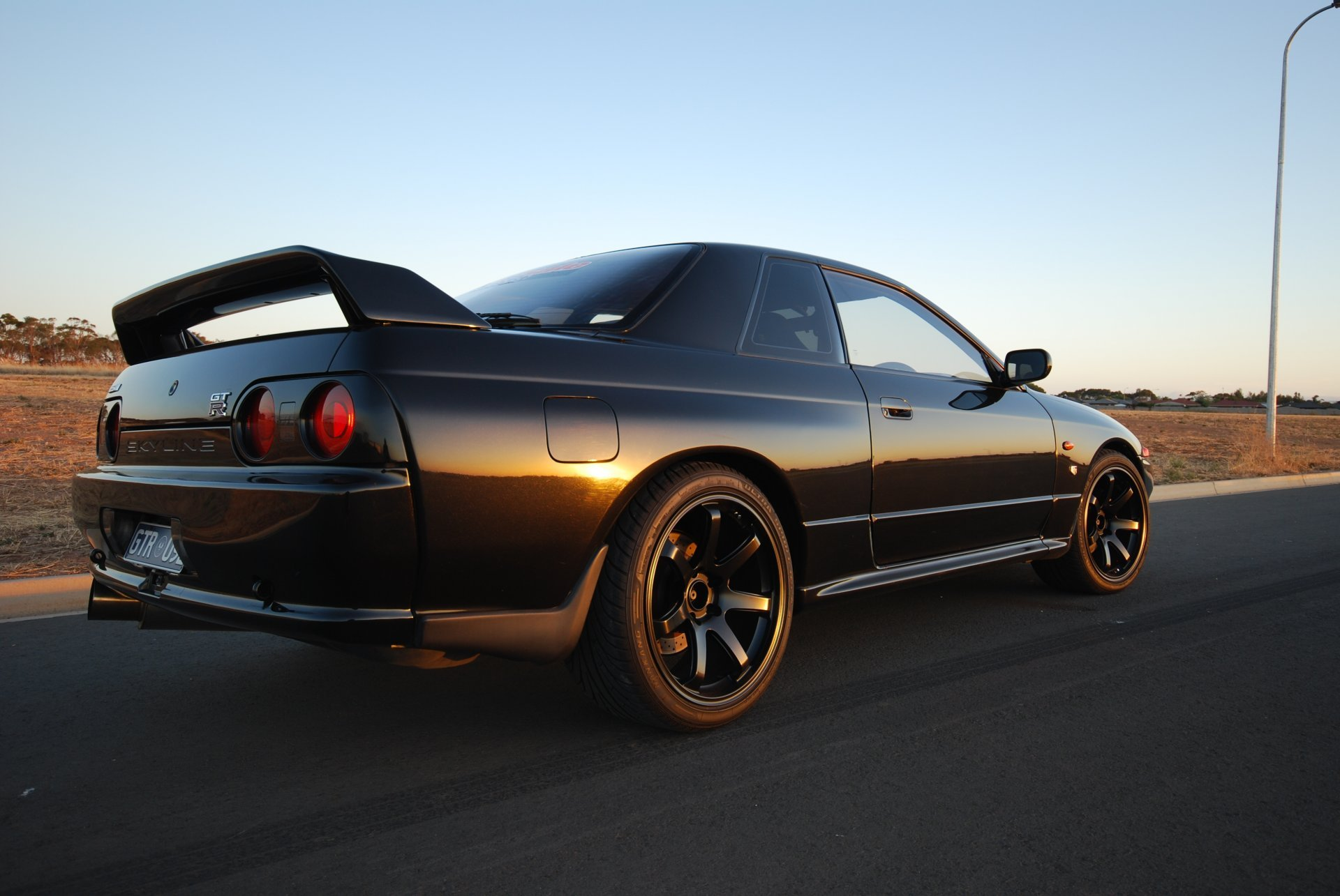 Nissan Skyline Gt R R32 Coupe Black Japan Wallpapers Drift 1920x1285