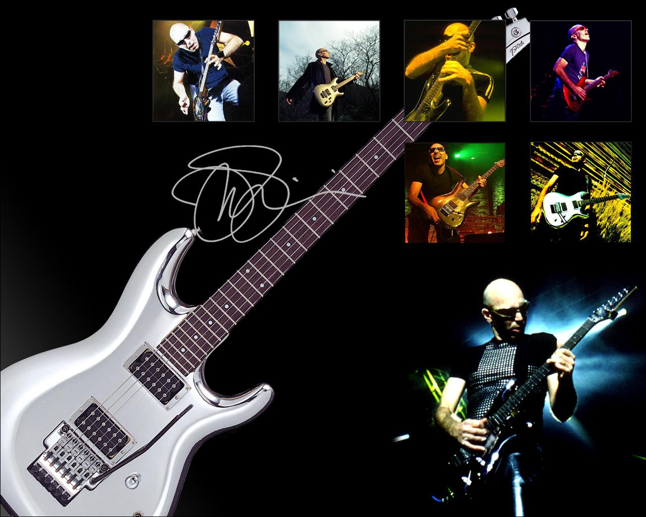 wallpaper joe satriani with his guitar clasic wallpaper joe satriani 1280x1024