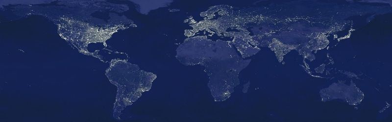 light night earth pollution globes maps world map 3840x1200 wallpaper 800x250