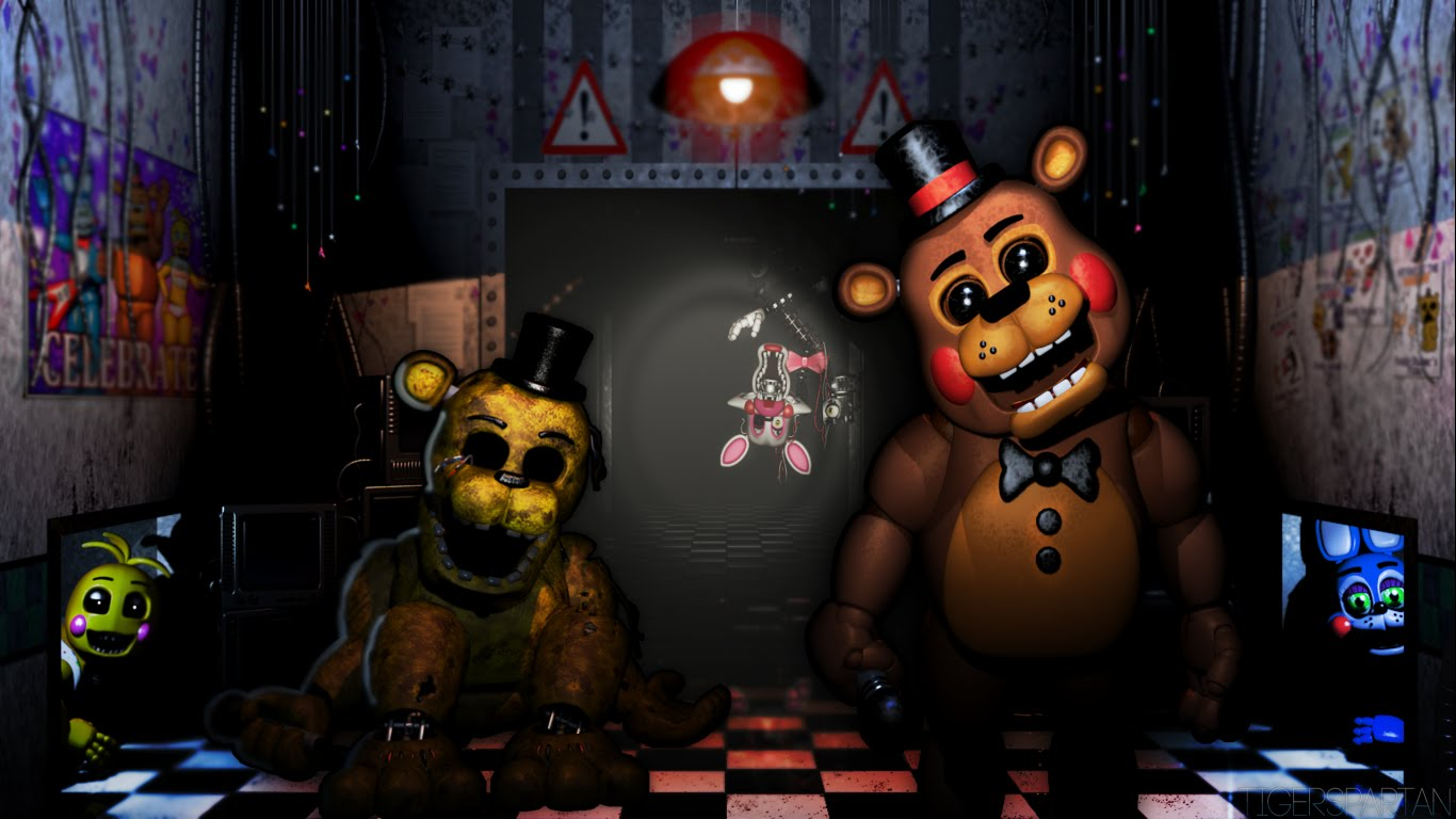 Free Download Showing Gallery For Five Nights At Freddys Wallpaper