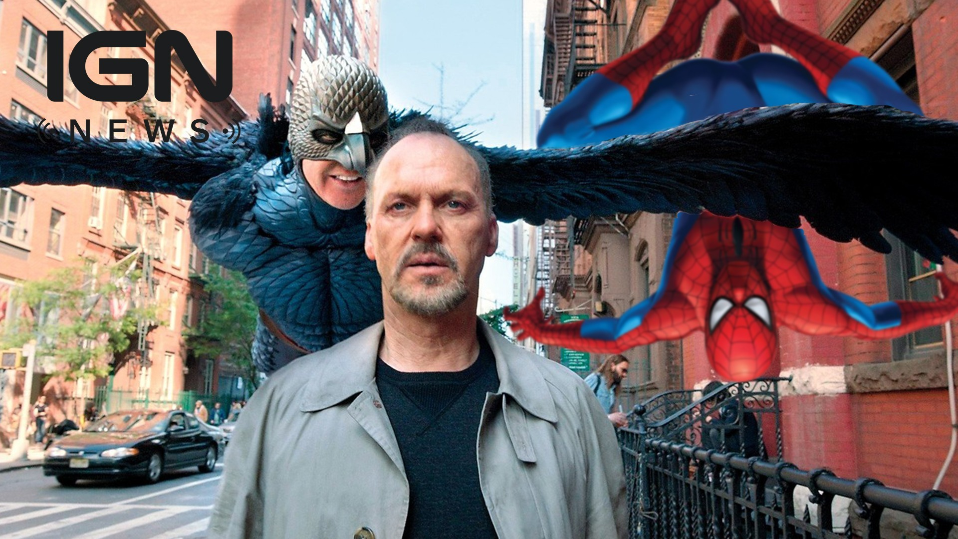 Spider Man Homecoming   Michael Keaton Confirmed as Vulture   IGN 1920x1080