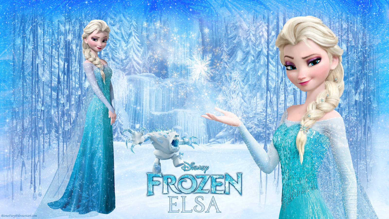 Frozen Elsa   Principesse Disney wallpaper 37731327   fanpop 1600x900