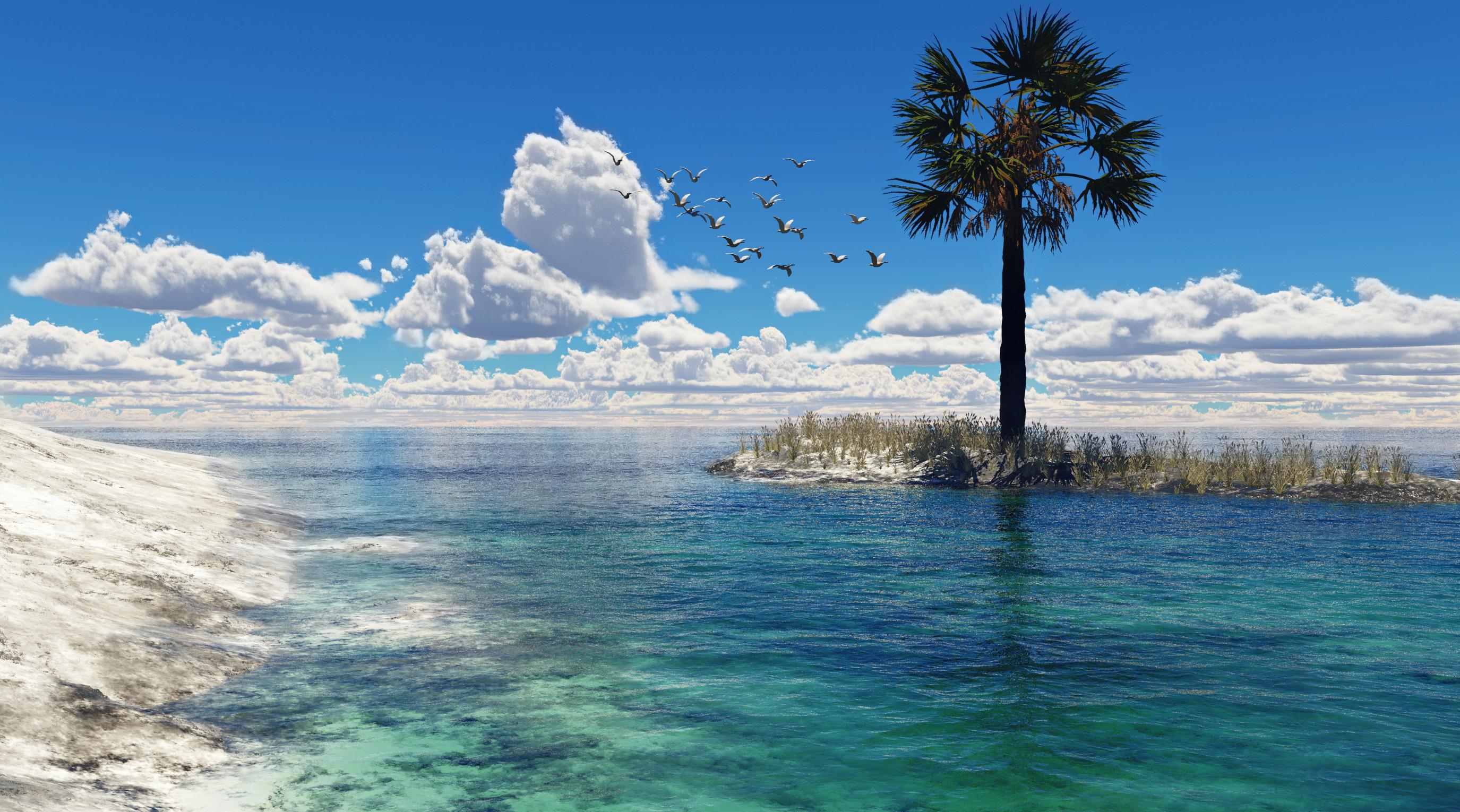 Earth   Seascape Wallpaper 2750x1530