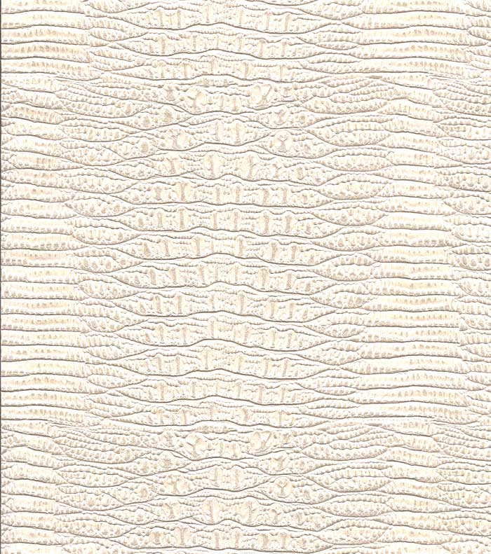 3007 Alligator Skin   Cream White   Faux Leather Embossed Wallpaper 700x791