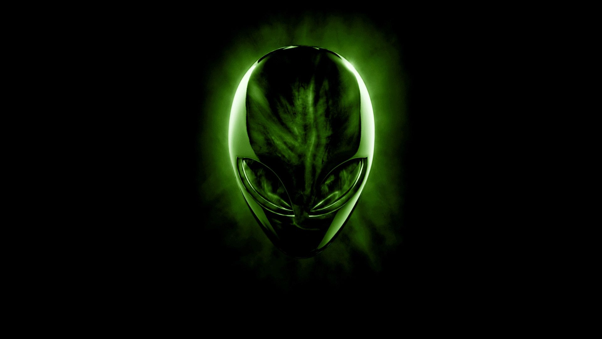Green Alienware Wallpapers 1920x1080
