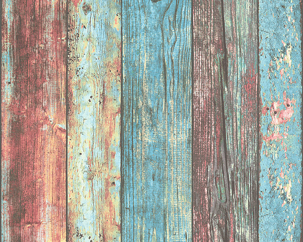 AS Cration Wallpaper Wood Blue Coloured 307231 1000x800