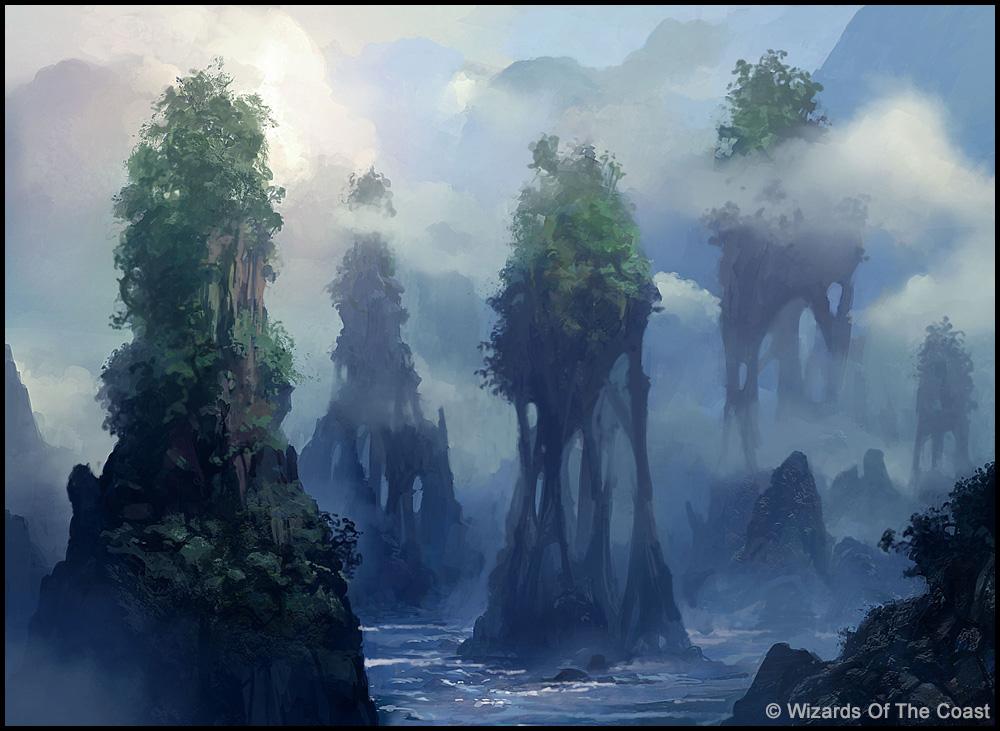 MTG   Island by andreasrocha 1000x731
