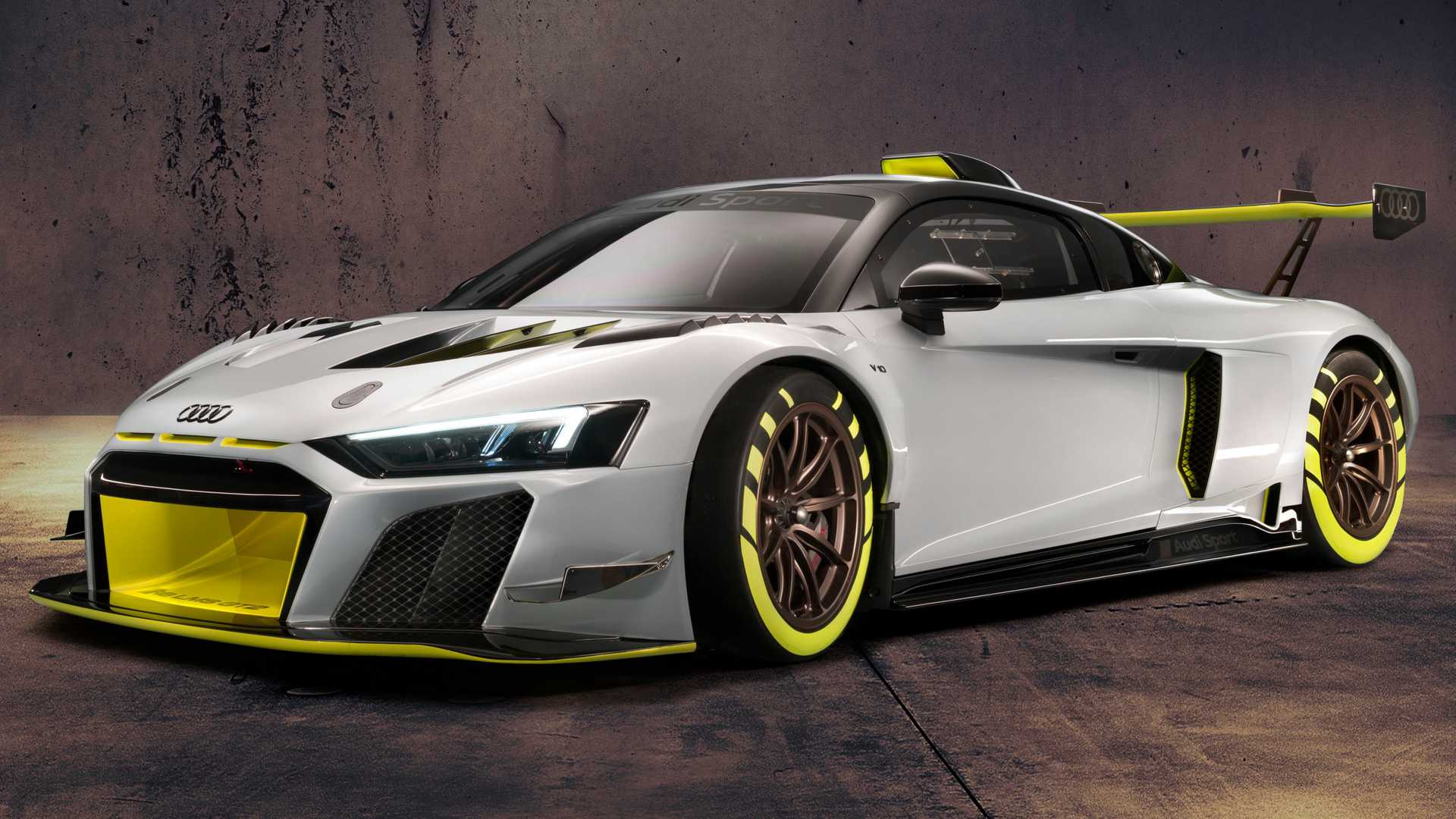 2020 Audi R8 LMS GT2 is a wild race car with 630 bhp 1920x1080