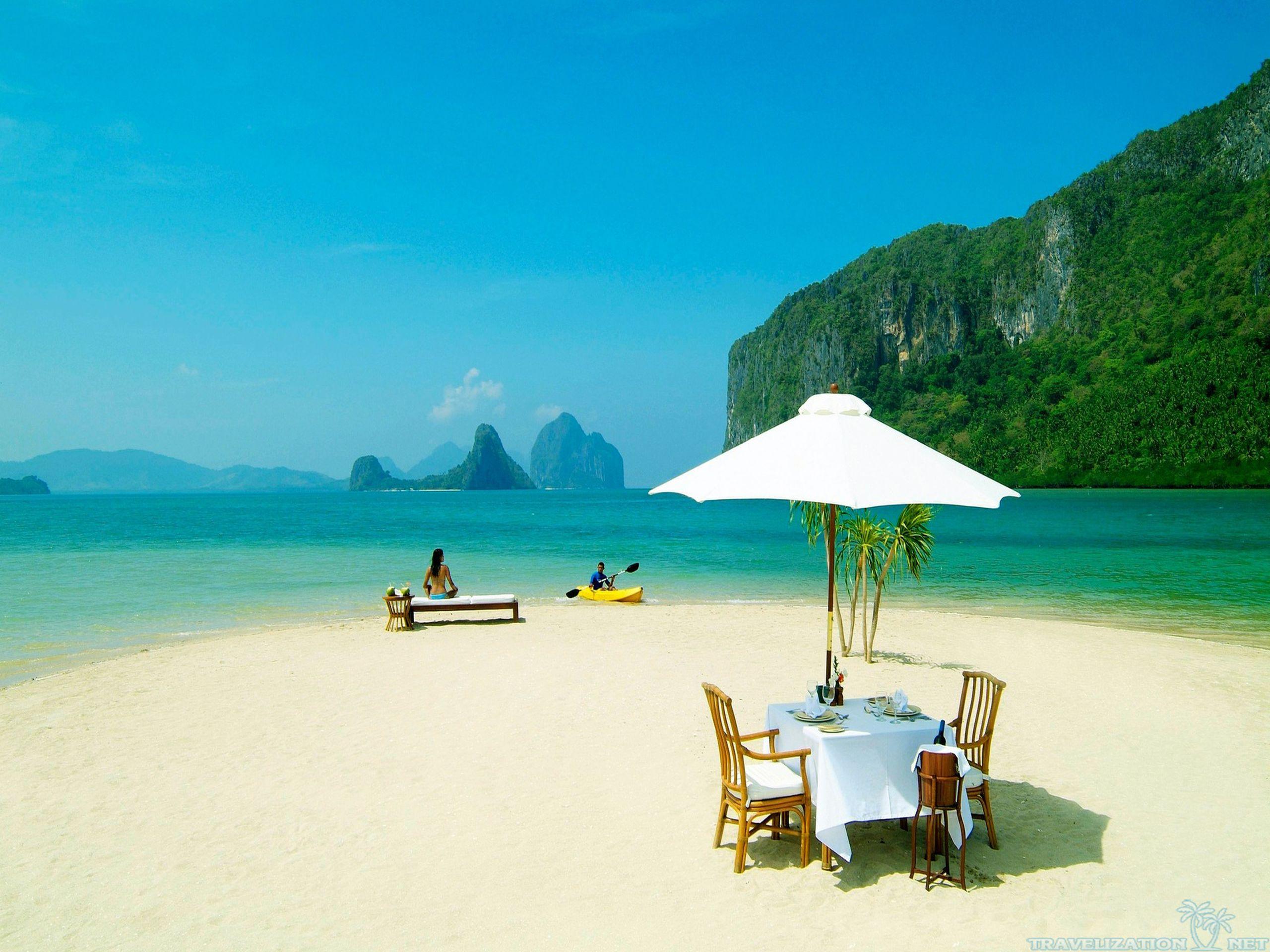 Relaxing Beach Wallpaper - WallpaperSafari Relaxing Beach Background