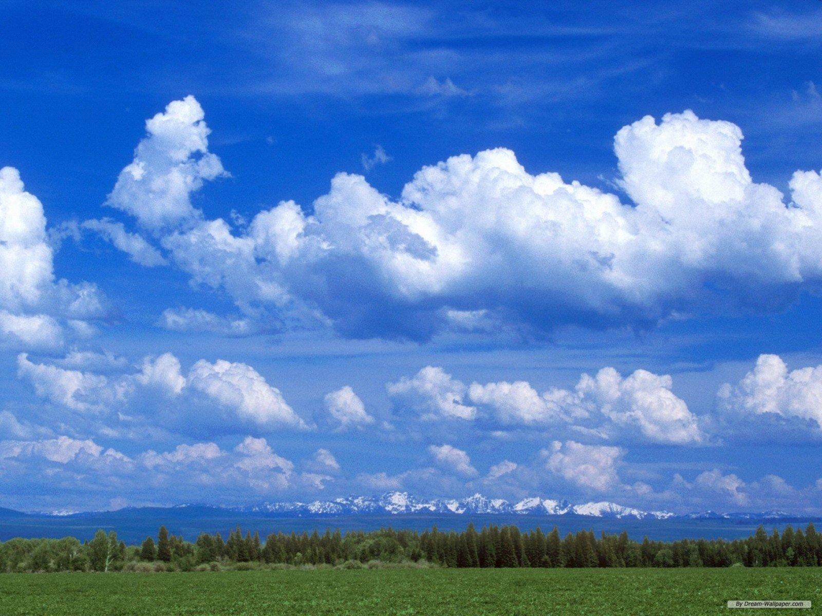 Blue cloud Wallpaper Wallpapers   High resolution Desktop 1600x1200