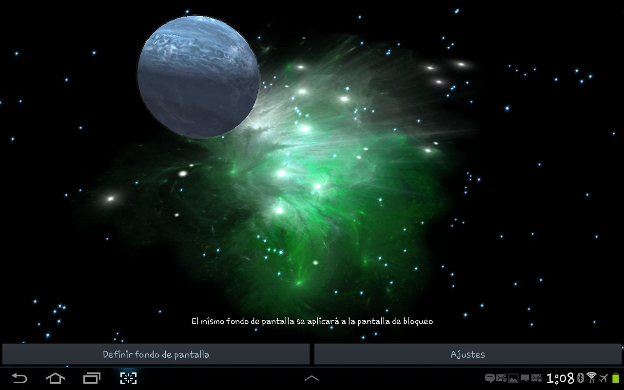 3D Galaxy Live Wallpaper   Android Apps und Tests   AndroidPIT 1280x800