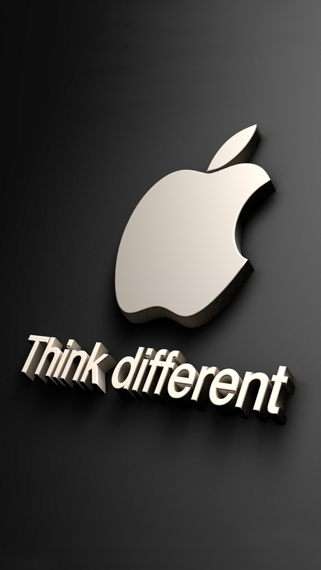 Apple Logo Wallpaper 3D For Iphone Wallpaper Area 640x1136
