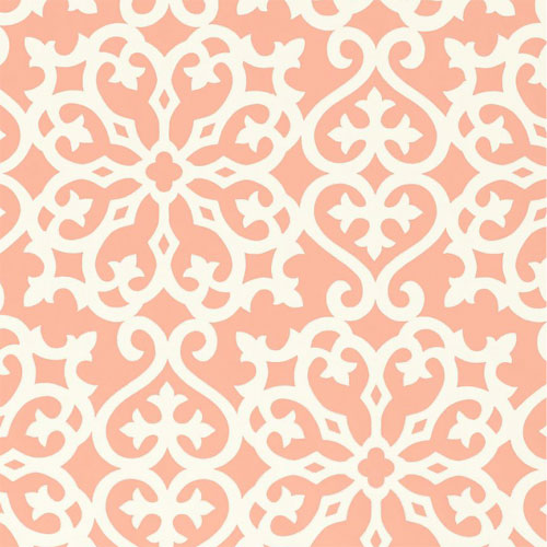 Coral and Navy Wallpaper - WallpaperSafari