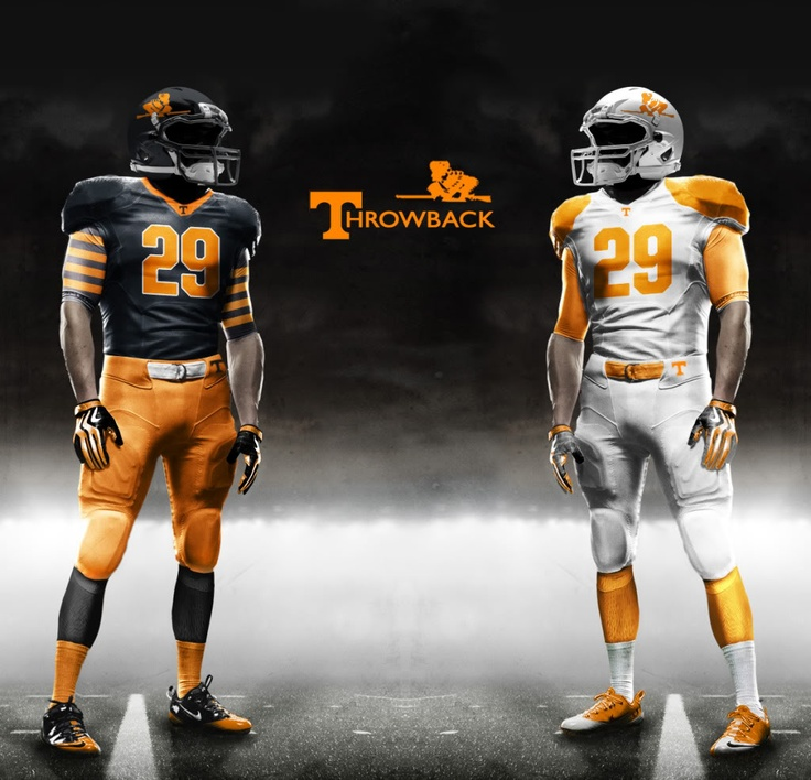these are awesome vols football uniforms Uniformes 736x708