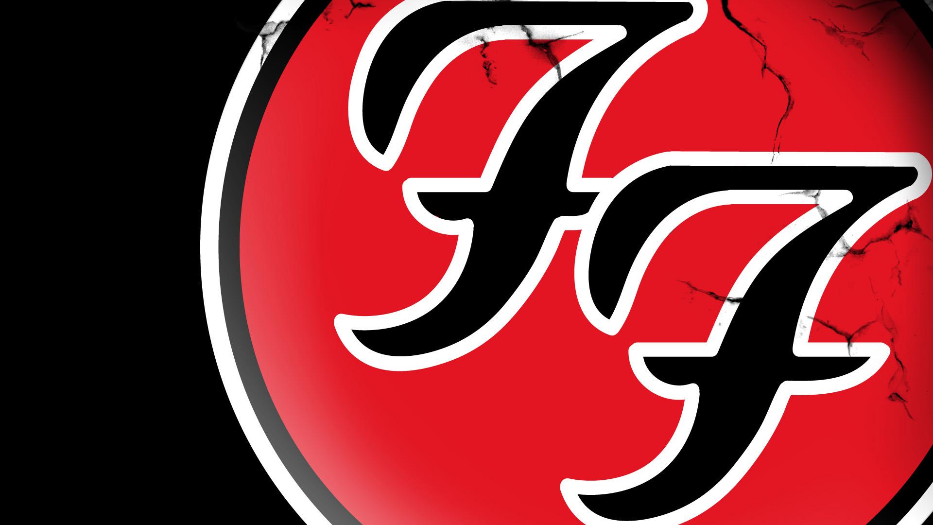 foo fighters logo closeup wallpaper HD 1920x1080