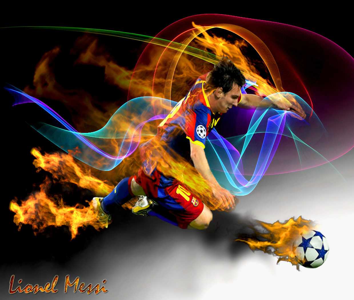 Lionel Messi wallpapers Craftily Created 1239x1050