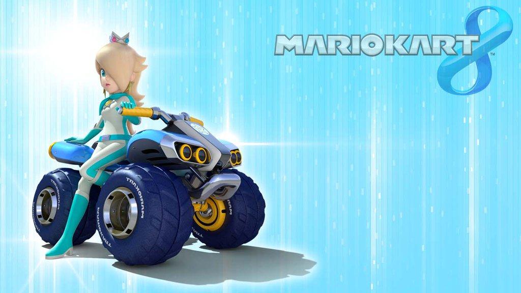 Mario Kart 8 Background: Mario Rosalina Wallpaper