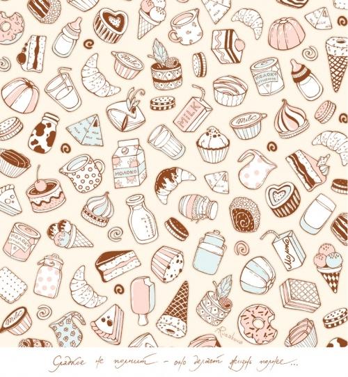 Cute Drawing Wallpaper Wallpapersafari