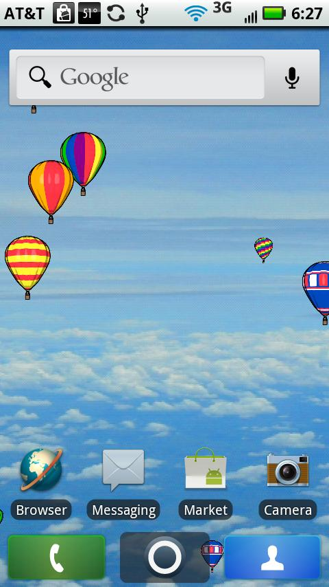 Free Download Hot Air Balloon Live Wallpaper Android Apps On
