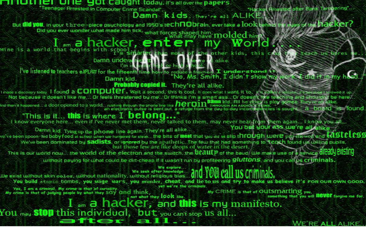 Hacker Desktop Backgrounds Animated 1280x800