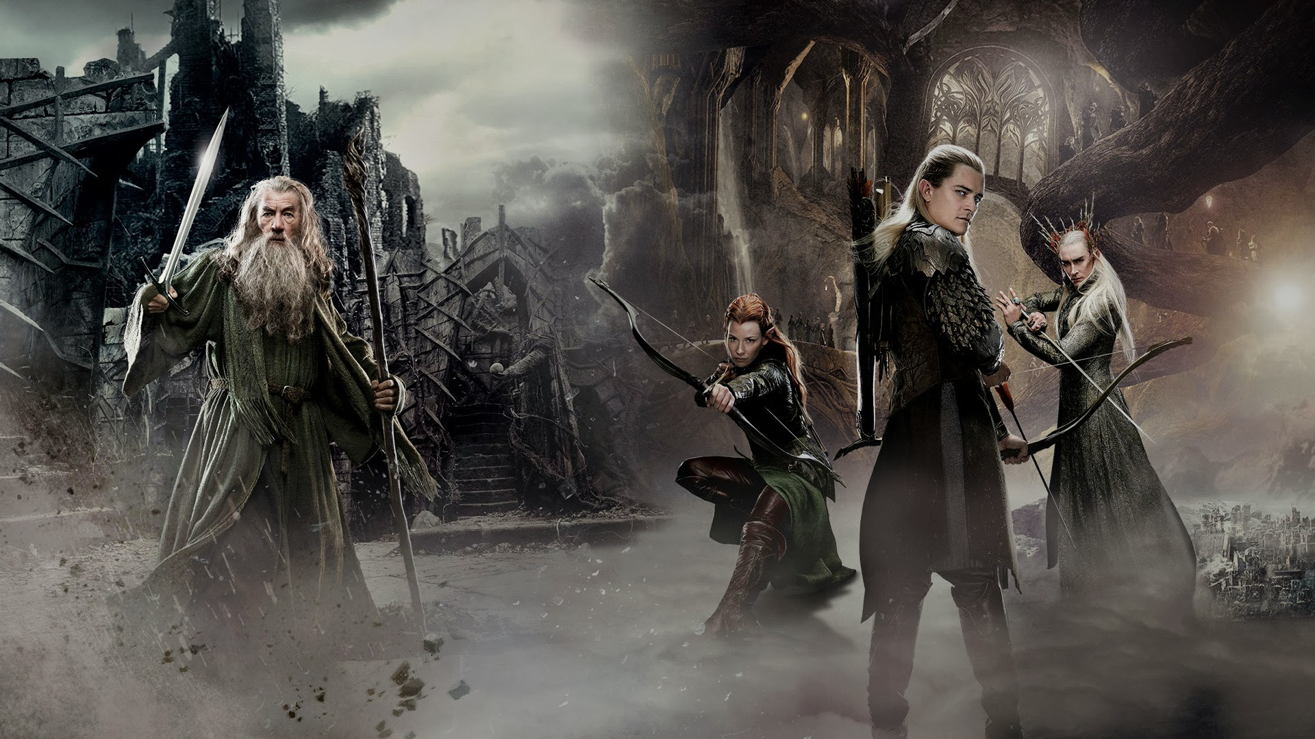 New The Hobbit 2 Movie Wallpaper HiresMOVIEWALLcom 1920x1080