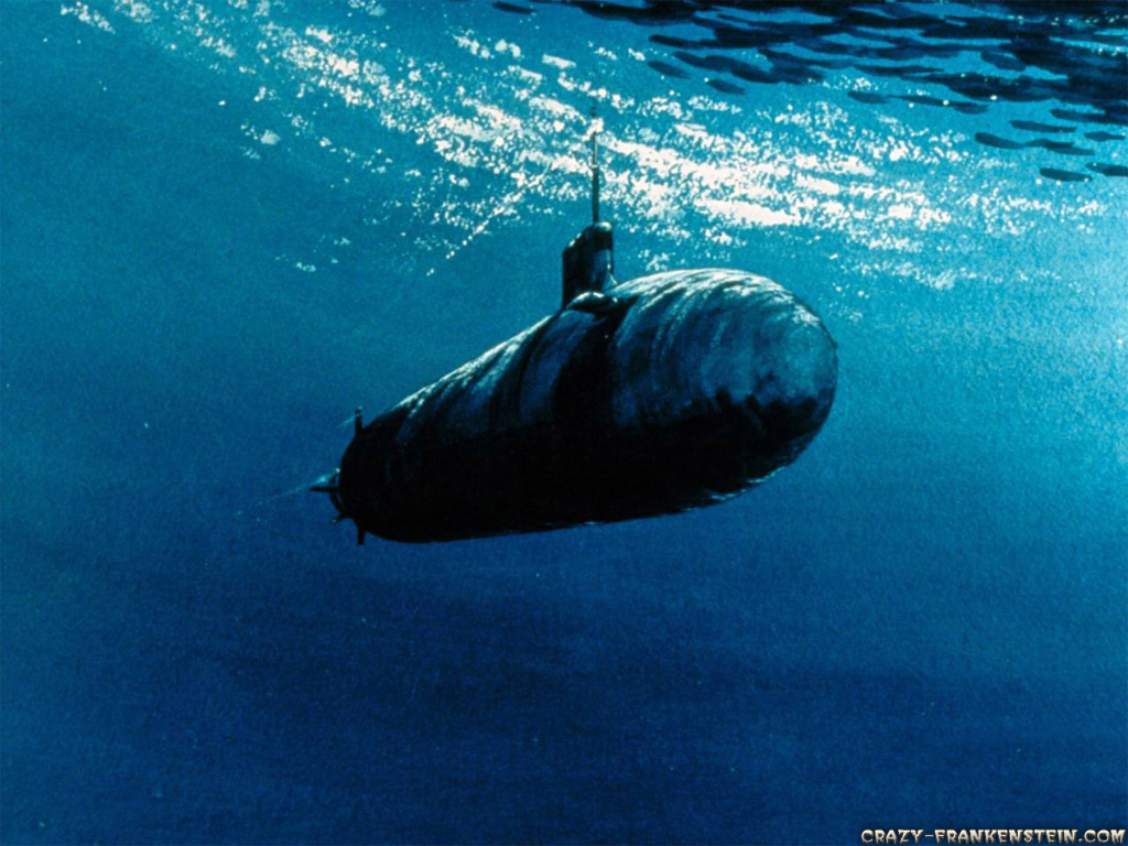 under water submarine military wallpapers 1024x768 1024x768