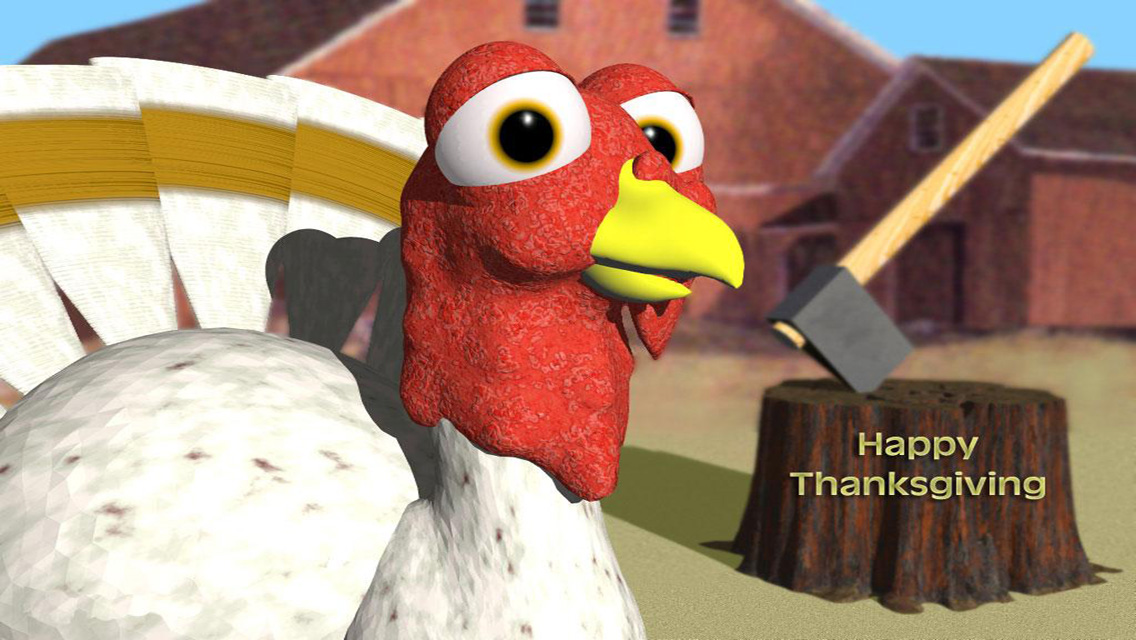 Thanksgiving Day 2012   Funny HD Thanksgiving Wallpapers for iPhone 5 1136x640
